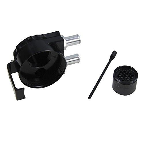 ALLOYWORKS Universal Oil Tank Baffled Aluminum Alloy Oil Catch Can Reservoir Tank(Black) by ALLOYWORKS (Image #7)