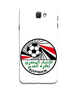 ColorKing Football Egypt 14 White shell case cover for Samsung Galaxy J7 Prime