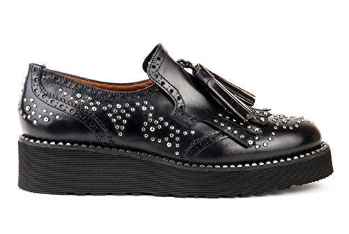 Zapatos Sin Cordones Pons Quintana Para Mujer 6146 Nepal Black Ai17