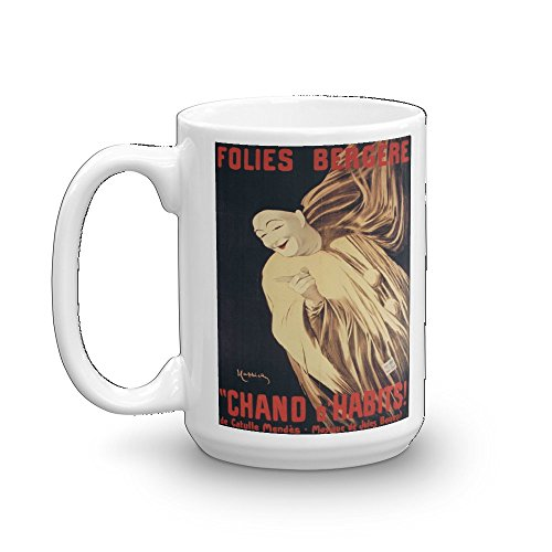 Vintage poster - Chand d'Habits 0789 - Glossy White Ceramic Mug (15 oz.)