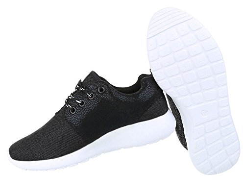 Trendige Unisex Schuhe Damen Kinder Sportschuhe Metallic