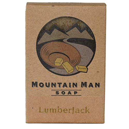 Mountain Man Soap Lumberjack Sawdust Scent - 8 oz Bar