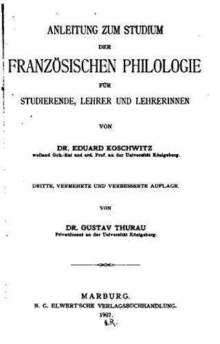 philologie studium