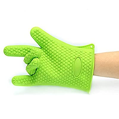 Barbecue Gloves & Pulled Pork Claws Set ? Silicone Heat Resistant Grilling Accessories & Home Kitchen Tools For Your Indoor & Outdoor Cooking Needs ? Use as BBQ Meat Turner or Oven Mitts from TYG STORE