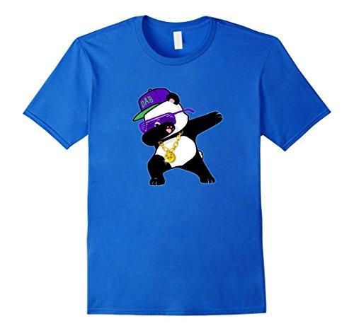 [Men's Dabbing Panda Funny Shirt Dab Hip Hop Small Royal Blue] (Teachers Pet School Girl Costume)