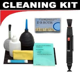 Lenspen Lens Cleaning System + Hurricane Blower + Deluxe 5-P