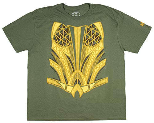 Aquaman Justice League Suit up Costume Tee -