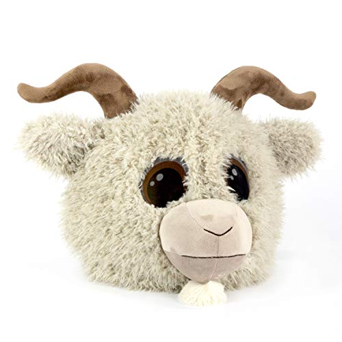 Maskimals Oversized Plush Halloween Mask - Goat]()