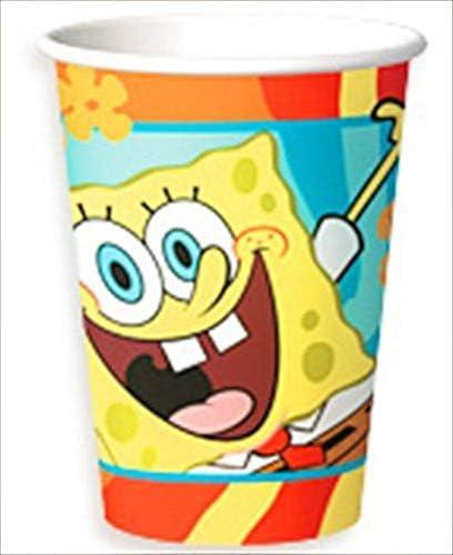 8 SPONGEBOB SQUAREPANTS BUDDIES 9oz PAPER CUPS ~ Birthday Party Supplies Drink
