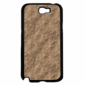 Brown Paper Bag - Phone Case Back Cover (Galaxy Note 2 - TPU Rubber Silicone)