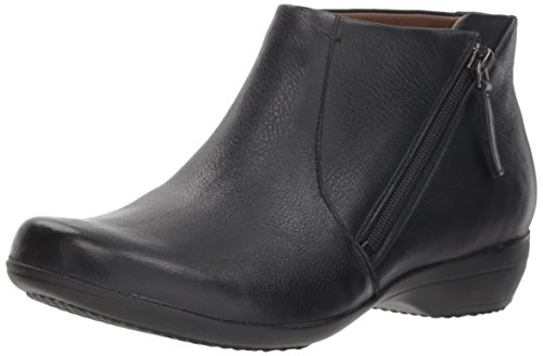 Dansko Women's Fifi Ankle Boot Black Milled Nappa