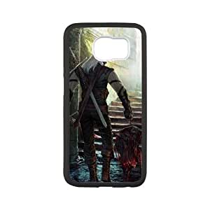 The Witcher Samsung Galaxy S6 Cell Phone Case Black yyfD-103597