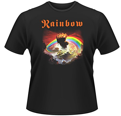Rainbow Rising Ritchie Blackmore Rock Official Tee T-Shirt Mens Unisex (X-Large)