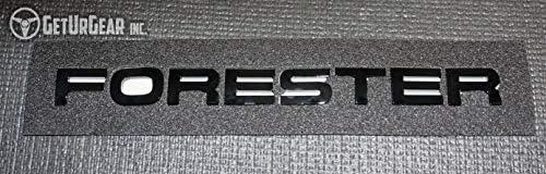 Forester Rear Matte Glossy Black Badge Emblem for 2014