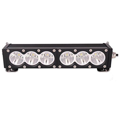 Lightronic 11.3inch 60W Led Fog Light Bar CREE Chip LED Spot Light Bar for Pickup Off Road SUV ATV Vehicles Car Ford f150