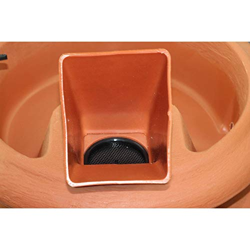 - FCMP Outdoor US4000-TC Urn Style (Terra Cotta) Rain Barrel