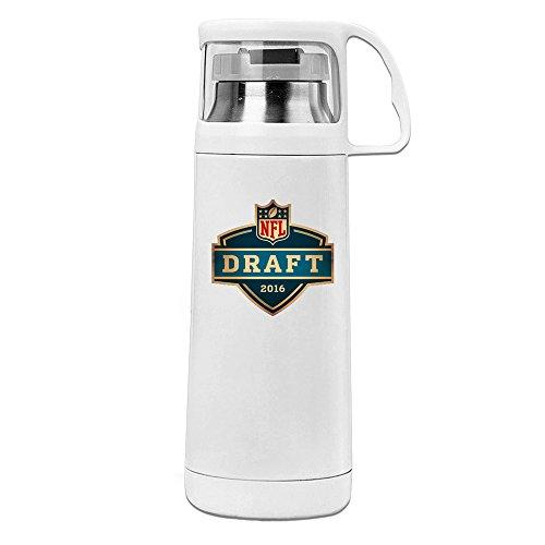 [MeiXue 2016 Draft MOCK Vacuum Cup Water Bottle White] (William Joseph Vest)