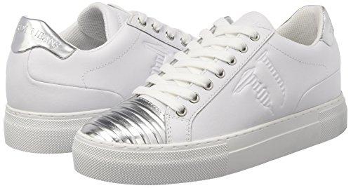 white 79s60753 Multicolore 112 silver Femme Jeans Trussardi Basses wB8qgSR