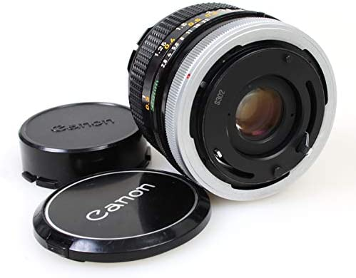 Canon FD 28mm f//2.8 SC MF Wide Angle Lens with Front /& Rear Caps