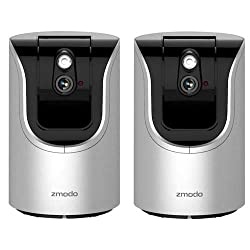 Image of the product Zmodo 2 Pack ZH IZV15 WAC that is listed on the catalogue brand of Zmodo.