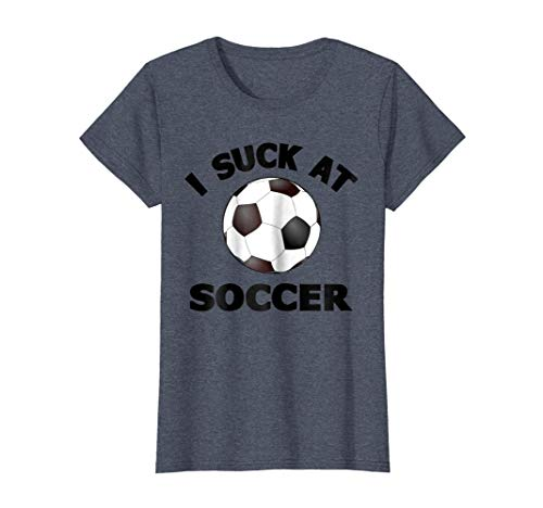 Womens I Suck at Soccer T-Shirts: Soccer Halloween