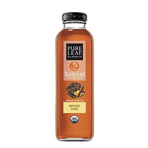 Pure Leaf Tea House Collection, Organic Iced Tea, Spiced Chai, 14 Ounce (8 - House Ice