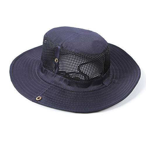 2019 New Fishing Cap Men Fashion Outdoor Camping Mesh Sun Protection Bucket Hat Wide Brim Shade Visor Sun Hat by Fulijie