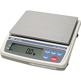 A&D Weighing EK-3000I Portable Balance, 3000g Capacity