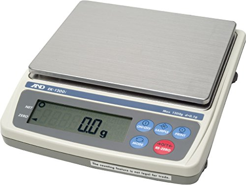 A&D EK-600i Legal for Trade Jewelry Gold Scale 600 x 0.1g...