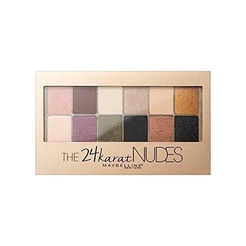 Maybelline 24 Karat Nudes Eye Shadow Palette (Pack of 6) - メイベリン24カラットヌードアイシャドウパレット x6 [並行輸入品] B071RNB67Z