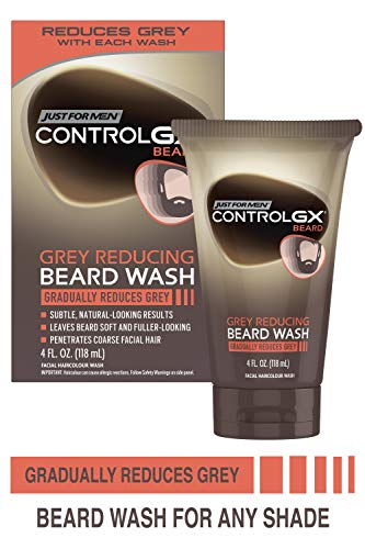Just For Men Control GX Grey Reducing Beard Wash,...