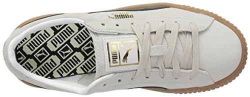 Sneaker Whisper PUMA Fashion Suede Womens Black Platform puma Core White xq774XYTw