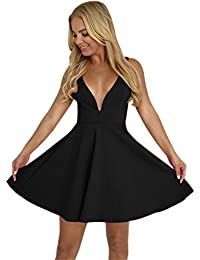 2e3a08db15b Tight A Line Deep V Neck with Sleeves Homecoming Graduation Dress