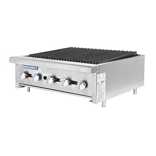 Turbo Air Radiance TARB-30 Countertop Gas Charbroiler 30