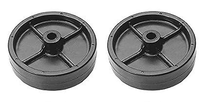 Amazon.com: (2) cortacésped cubierta ruedas para MTD Cub ...
