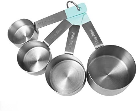 (Measuring Cups, Teal) - Jamie Oliver Measuring Cups Set, Ne