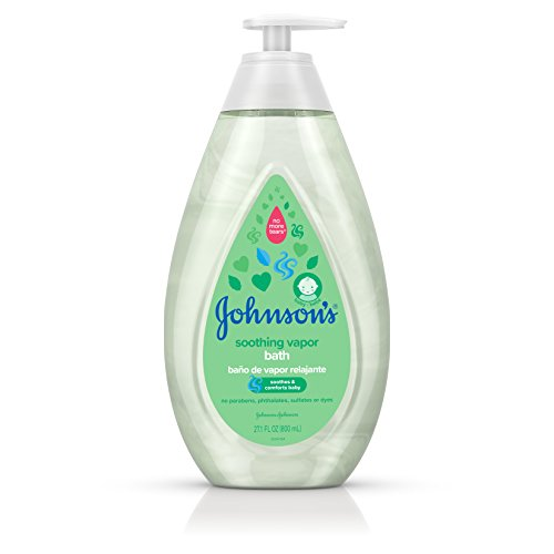 Johnson's Baby Soothing Vapor Bath to Relax Babies, 27.1 f