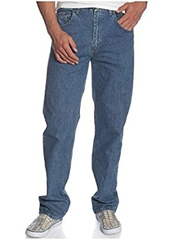 Wrangler Men's Regular Fit Jean,Mid Blue Stonewash,30x30
