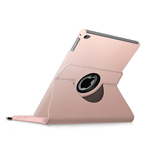 Fintie iPad mini 4 Case - 360 Degree Rotating Stand Case with Smart Cover Auto Sleep / Wake Feature for Apple iPad mini 4 (2015 Release), Rose Gold Photo #3