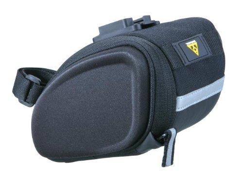 (Topeak SideKick Wedge Seat Bag, Black, Medium )