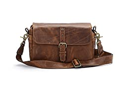 Ona - The Bowery - Camera Messenger Bag - Antique Cognac Leather (Ona5-014lbr)
