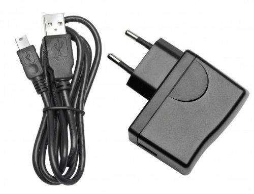 mit USB-Kabel f/ür Travel Pilot 40//50//70 230V Blaupunkt 1081234011001 Netzlader