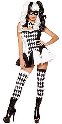 Harley Quinn Big Top Women's Halloween Costume