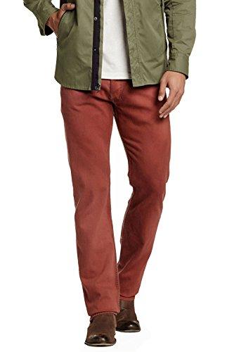 (Diesel Safado Trouser Slim Straight Leg Jean Red (34) )