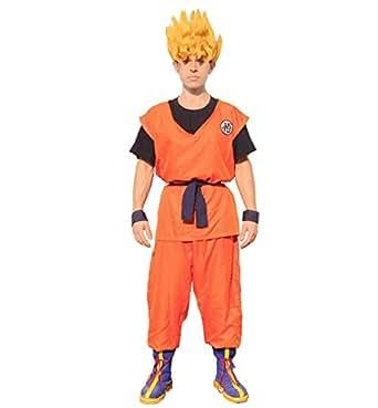 Miccostumes Men's Dragon Ball Son Goku Cosplay Costume (men l)