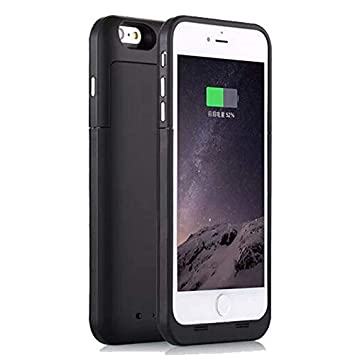 NOVPEAK iPhone 6 Plus / 6S Plus 6800mAh Cargador de batería recargable portátil Carcasa Power Bank para iphone 6 Plus iphone 6s más 5.5 pulgadas