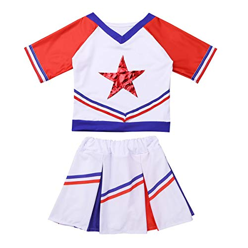 ACSUSS Girls Cheer Leader Cheerleading Costumes Students