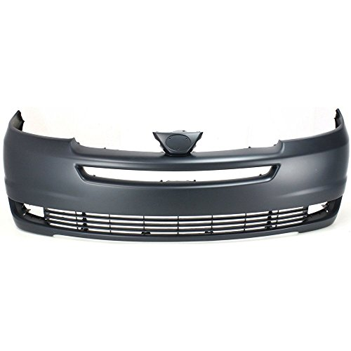 (Front BUMPER COVER Primed for 2004-2005 Toyota Sienna)