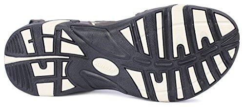 Kunsto Men's Sport Outdoor Sandal US Size 10 Brown by Kunsto (Image #4)