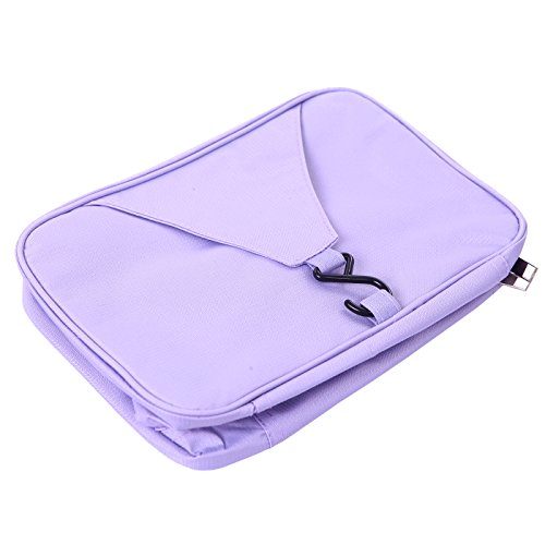 6d4e2fe9ab45 HDE Personal Travel Shower Organizer Hanging Toiletry Wash Bag ...